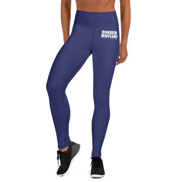 The Office Dunder Mifflin Yoga Leggings