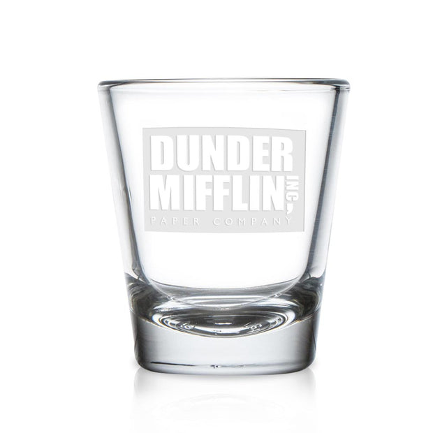 The Office Dunder Mifflin Shot Glass