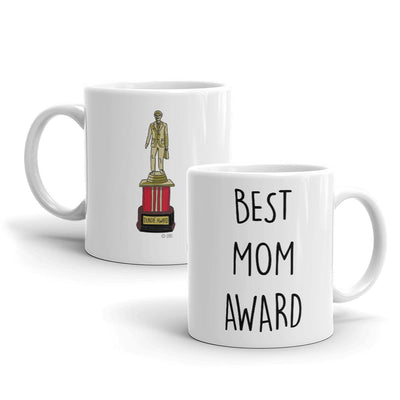 The Office Best Mom Dundie Award White Mug