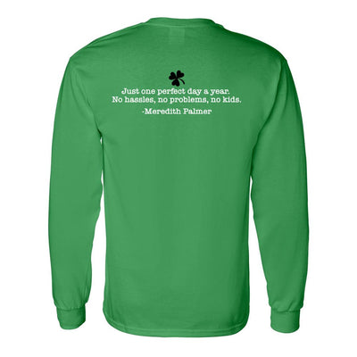 The Office Meredith's Perfect St. Patrick's Day Adult Long Sleeve T-Shirt