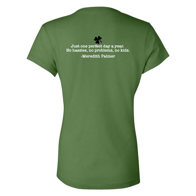 The Office Meredith's Perfect St. Patrick's Day Women's V-Neck T-Shirt