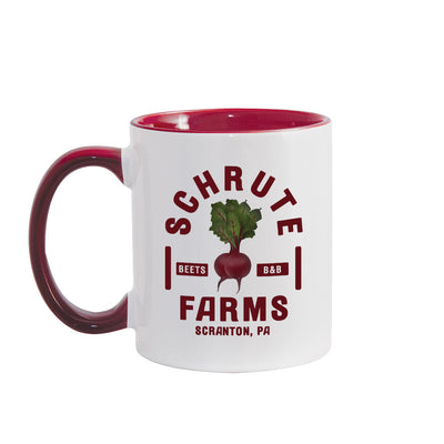 The Office Schrute Farms Two-Tone Mug