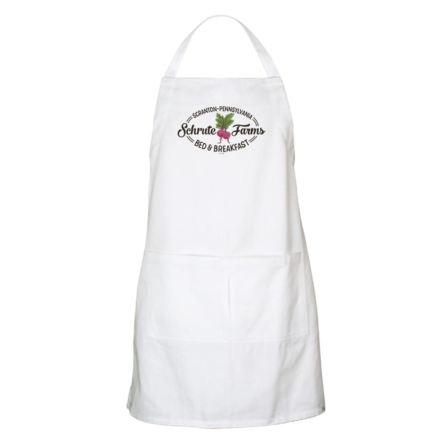 The Office Schrute Farms Bed & Breakfast Apron Apron - With Pockets