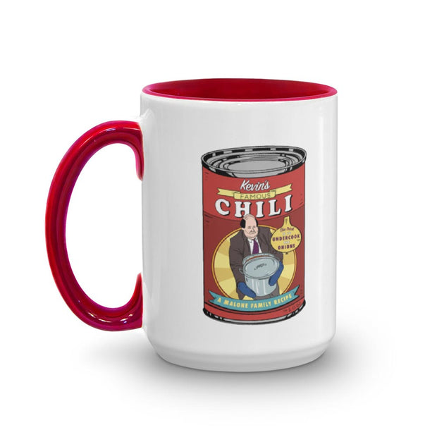 The Office Kevin's Famous Chili Two-Tone Mug