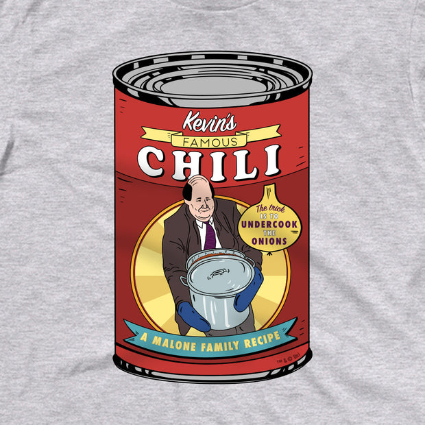 The Office Kevin's Famous Chili Adult Short Sleeve T-Shirt