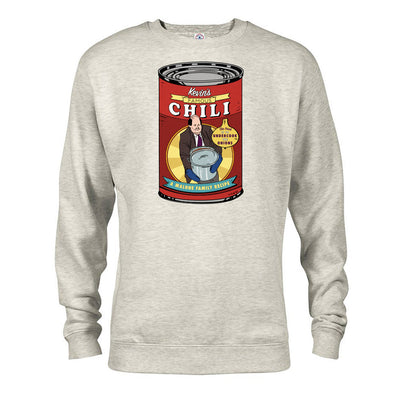 The Office Kevin's Famous Chili Fleece Crewneck Sweatshirt
