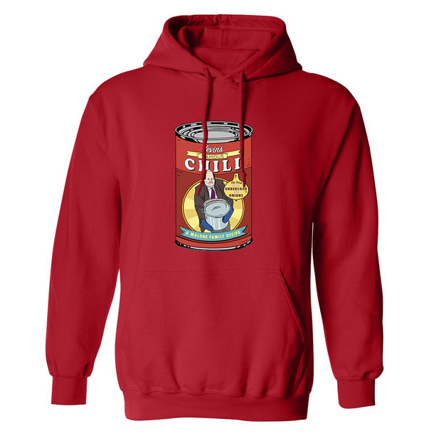 The Office Kevin's Famous Chili Fleece Hooded Sweatshirt