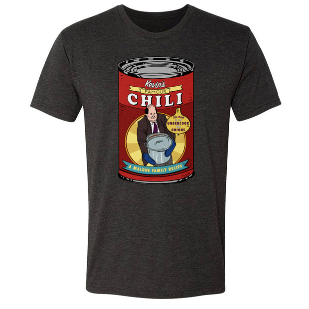 The Office Kevin's Famous Chili Men's Tri-Blend T-Shirt