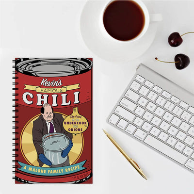 The Office Kevin's Famous Chili Notebook