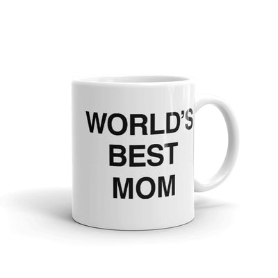The Office World's Best Mom White Mug