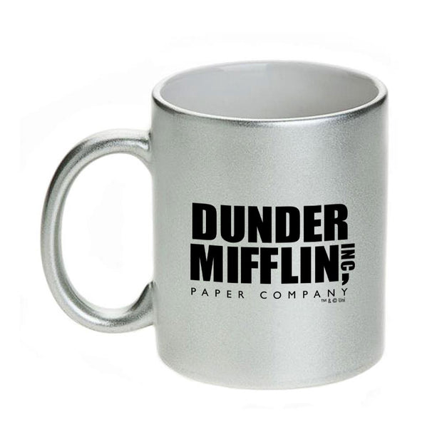 The Office Dunder Mifflin 11 oz Metallic Mug