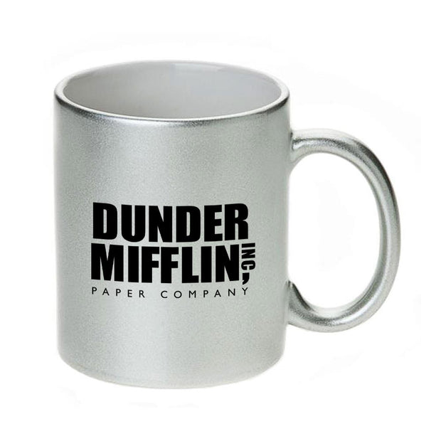 The Office Dunder Mifflin 11 Metallic Mug