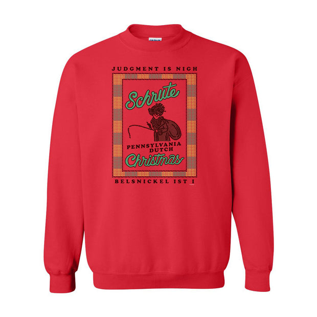 The Office Dwight Belsnickel Ugly Christmas Sweatshirt