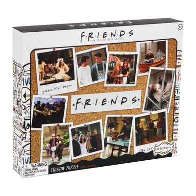 Friends 1000 Piece Jigsaw Puzzle