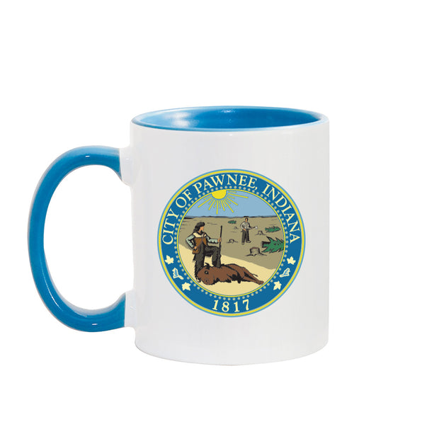 Parks and Recreation City of Pawnee Two-Tone Mug