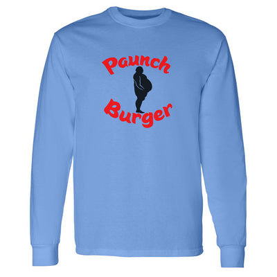 Parks and Recreation Paunch Burger Adult Long Sleeve T-Shirt