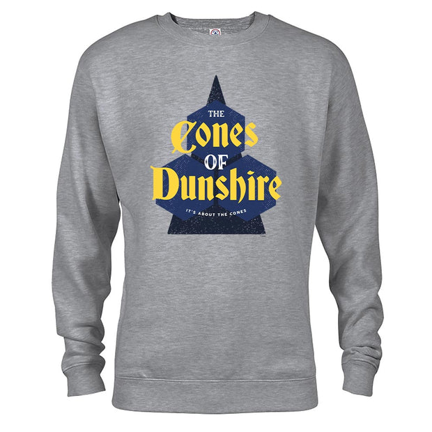 Parks and Recreation The Cones of Dunshire Crew Neck Sweatshirt