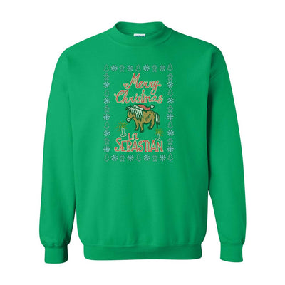 Parks and Recreation Merry Christmas Li'l Sebastian Ugly Christmas Sweatshirt
