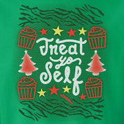 Parks and Recreation Treat Yo Self Ugly Christmas Sweatshirt