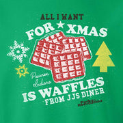 Parks and Recreation Waffles Ugly Christmas Sweatshirt