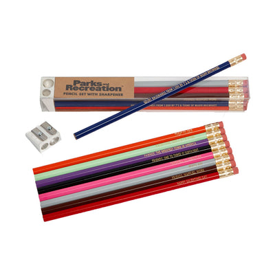 Parks and Recreation Pencil Set