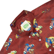 Parks and Recreation Ron Loves Li'l Sebastian Button Down Shirt