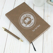 TODAY Read with Jenna Personalized Leather Journal