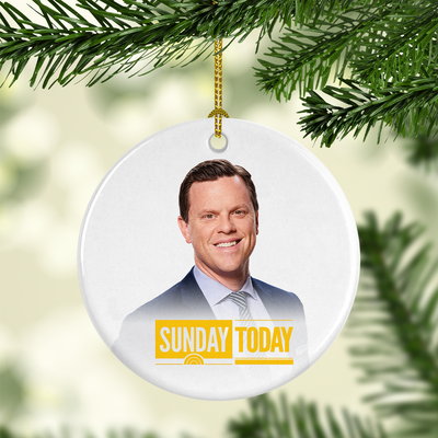 Sunday TODAY with Willie Geist Double-Sided Ornament