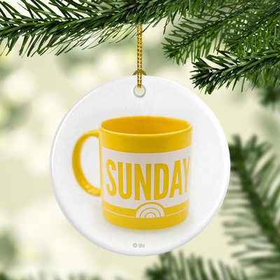 Sunday TODAY with Willie Geist Mug Double-Sided Ornament