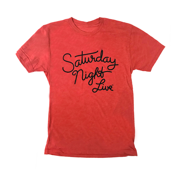 Saturday Night Live Script Logo Tee