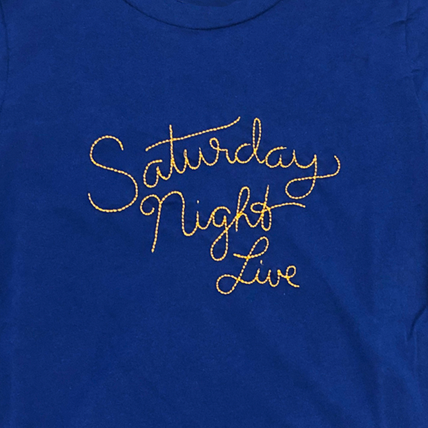 Saturday Night Live Kid's Stitched Logo Tee