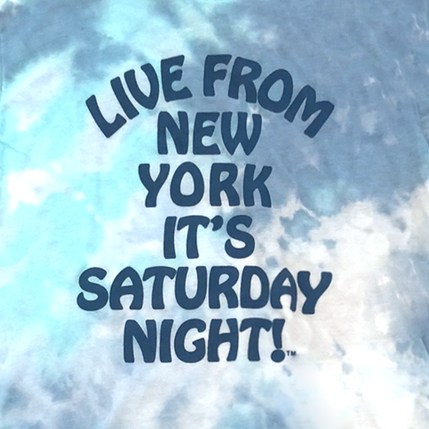 Saturday Night Live Live From New York Tie-Dyed Tee