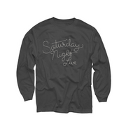 Saturday Night Live Stitched Logo Long Sleeved Tee