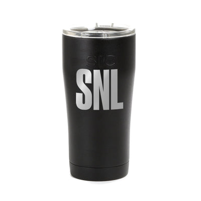 Saturday Night Live Logo Laser Engraved SIC Tumbler
