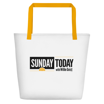 Sunday Today Logo Beach Bag