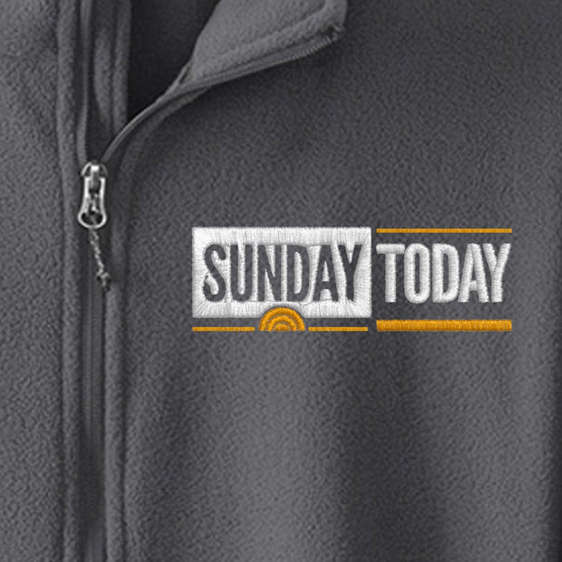 Sunday TODAY with Willie Geist Fleece Zip-Up Jacket