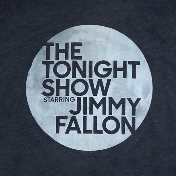 The Tonight Show Starring Jimmy Fallon Glow in the Dark Logo Tee