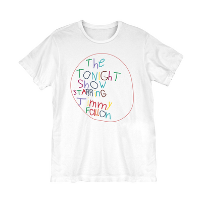 The Tonight Show Starring Jimmy Fallon At Home Edition Logo Tee