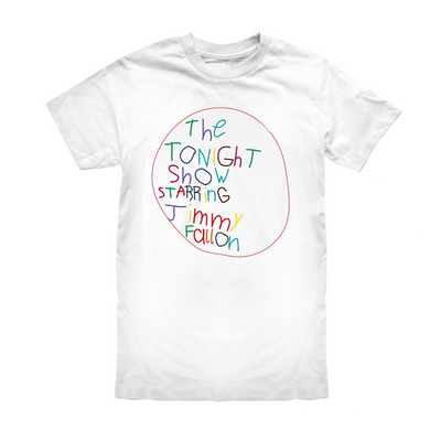 The Tonight Show Starring Jimmy Fallon At Home Edition Kids Logo Tee