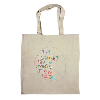 The Tonight Show Starring Jimmy Fallon At Home Edition Tote Bag