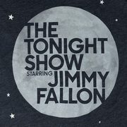 The Tonight Show Starring Jimmy Fallon Women's Moon and Stars Tee