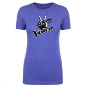 The Voice Logo Women's Tri-Blend T-Shirt