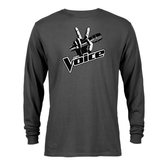 The Voice Logo Adult Long Sleeve T-Shirt