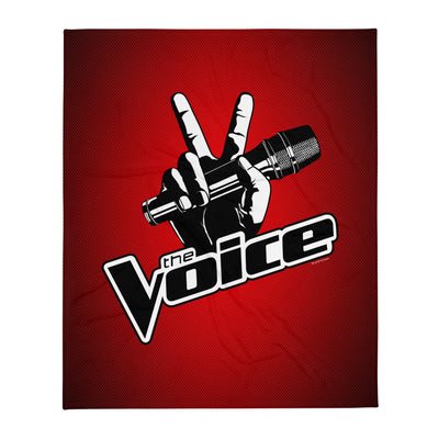 The Voice Logo Fleece Blanket