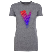 The Voice Neon Logo Women's Tri-Blend T-Shirt