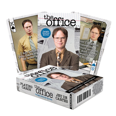 The Office Dwight Schrute Quotes Playing Cards