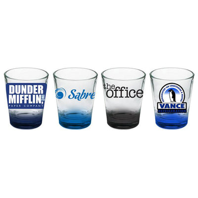 The Office Logo Shot Glass Set