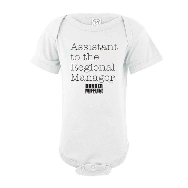 The Office Regional Mgr/Asst. Regional Mgr Baby Bodysuit