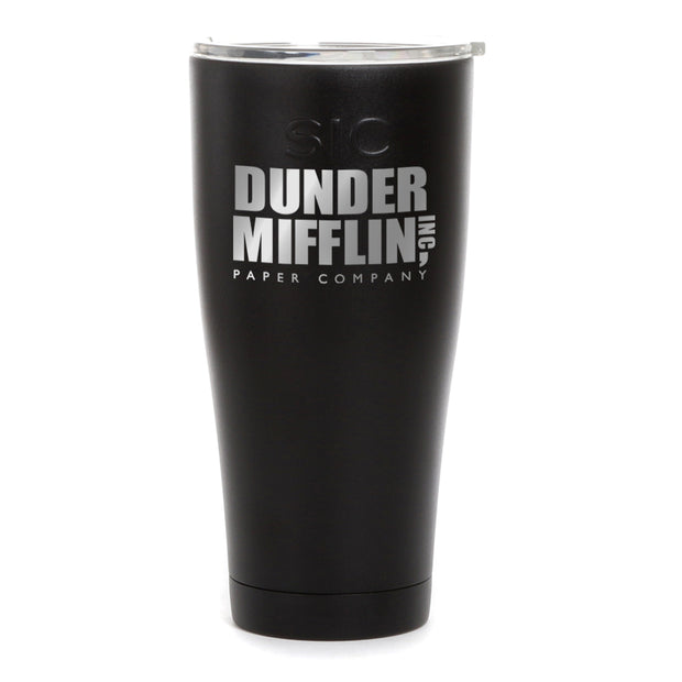 The Office Dunder Mifflin Laser Engraved SIC Tumbler