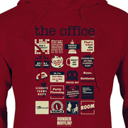 The Office Quote Mash-Up Hooded Sweatshirt